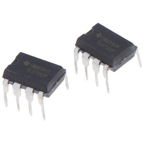 10PCS TL072CP New Original IC Inline DIP-8 Dual Operational Amplifier Y PZ