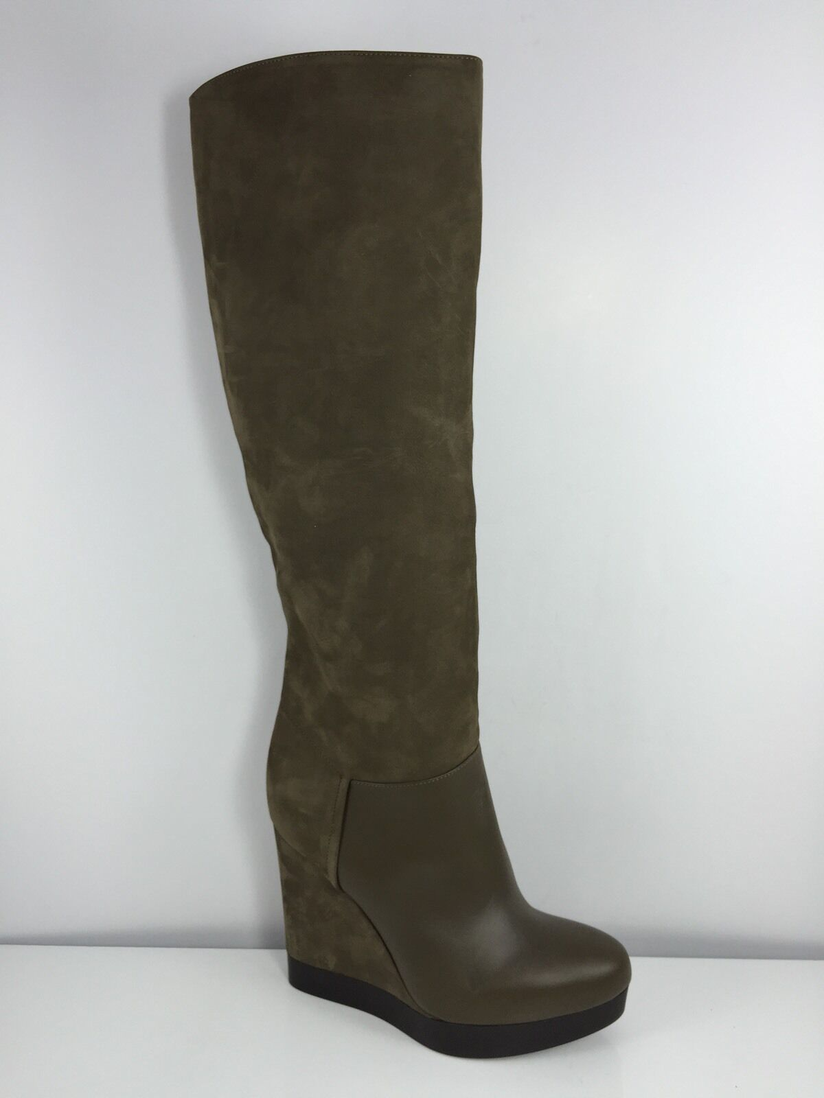 Vince Vince Vince Womens Stone Brown Leather Boots 6 M 03df62