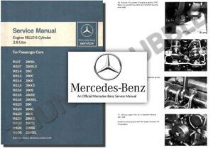 mercedes m110 engine service workshop repair manual 280 s e se ce sl rh ebay com 1972 mercedes 280se service manual 1972 mercedes 280se service manual