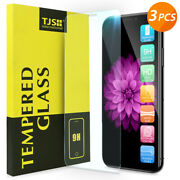 3Pcs Apple iPhone 11/Pro/Max/XS/X 8 7 6 6s Plus Tempered Glass Screen Protector