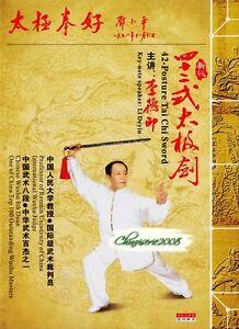 Chinese-Wushu-amp-Kongfu-Taijiquan-Taiji-42-Posture-Tai-Chi-Sword-by-Li-Deyin-DVD