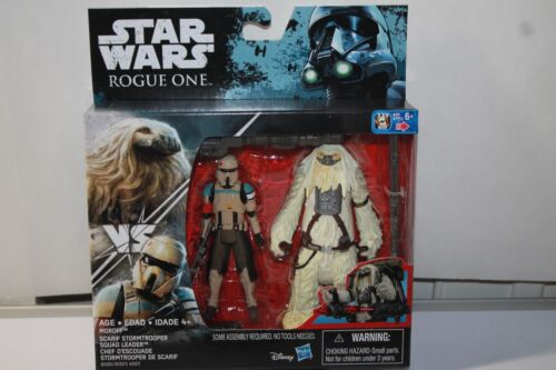Star Wars SCARIF STORMTROOPER /& Moroff 3.75 Action Figure Rogue One