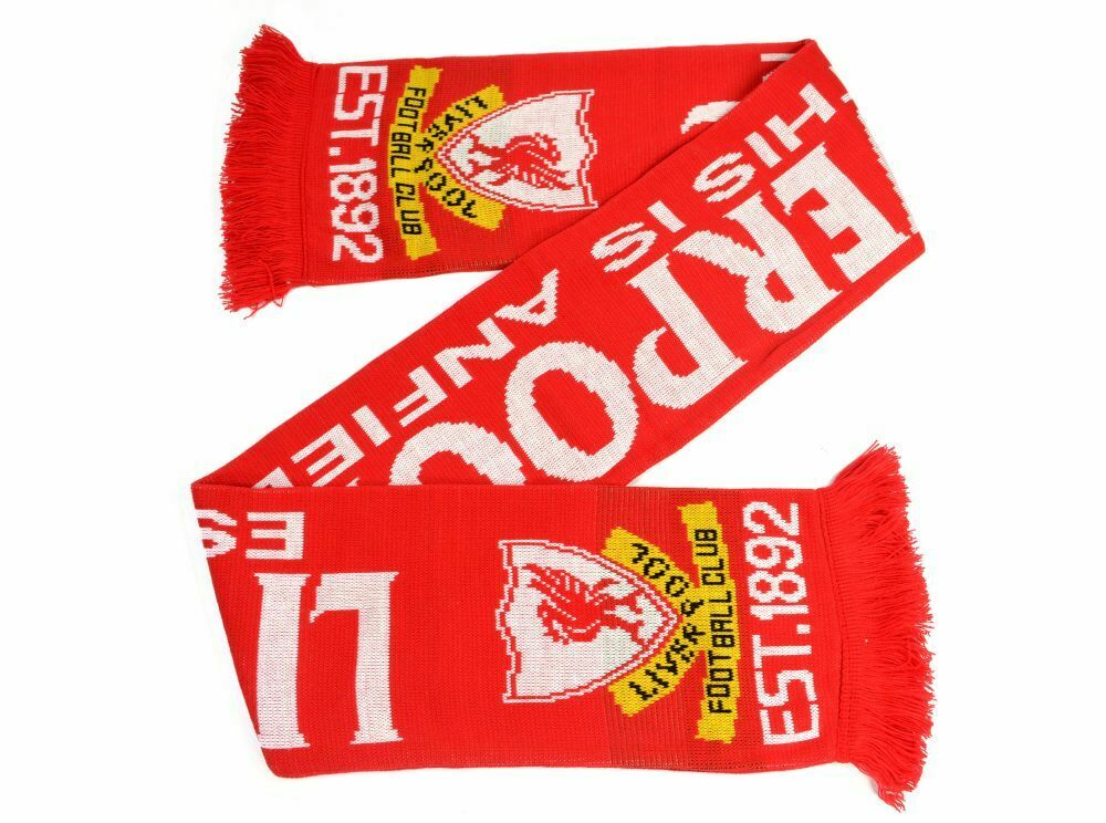 Liverpool This is Anfield Jacquard Knit Scarf