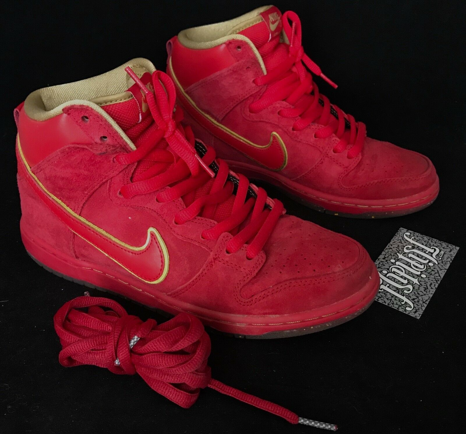 VTG NIKE SB DUNK HIGH CHINESE NEW YEAR HORSE RED CNY YOTH PIGEON SUPREME Price reduction New shoes for men and women, limited time discount