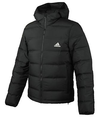 Adidas Men 2017 Helionic Down Hooded Jacket Winter Black Warmer Padded BQ2001 | eBay
