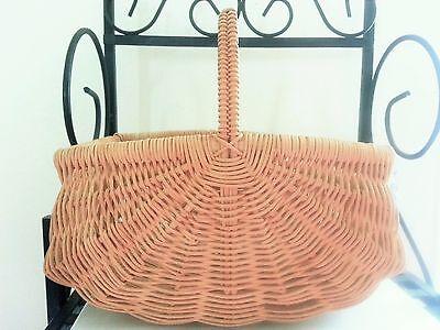 WONDERFUL Small Buttock Basket Rectangular Edge Handle