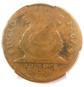 1787-Fugio-Cent-1C-Colonial-Coin-Cross-Variety-PCGS-VG8-850-Value
