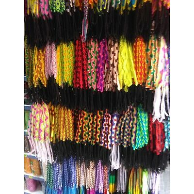 Lot 500 FRIENDSHIP BRACELETS Handmade/Peru/Wholesale/Free shipping/We have store