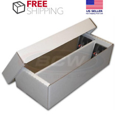 25x BCW 500 COUNT Corrugated Cardboard Storage Boxes Sports//Trading Cards ct box