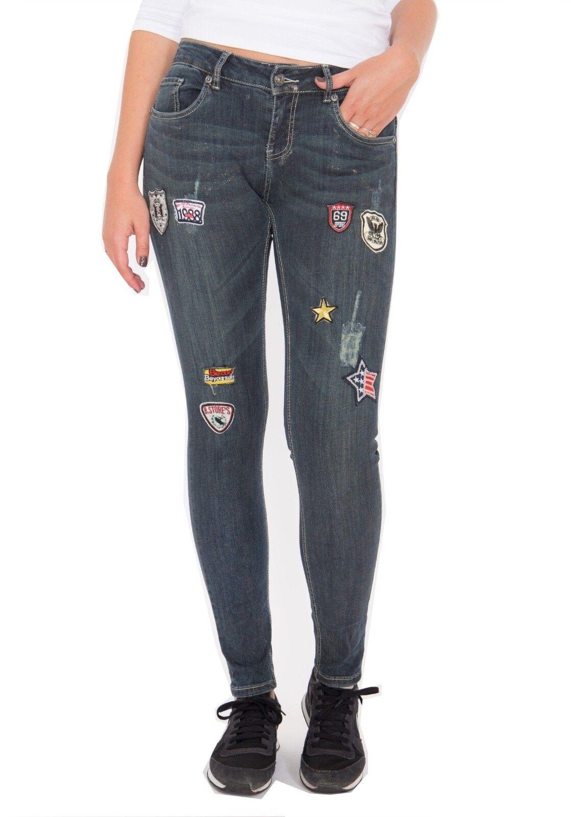 Jeans Honey Skinny von von von Blau Monkey in Dark Blau - NEU | Modern Und Elegant In Der Mode  | Erste Gruppe von Kunden  | Klein und fein  d9cccd