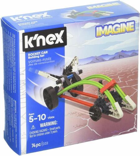 K/'NEX Rocket Car Building Set 74 Pieces For Ages 5 Construction Education Toy