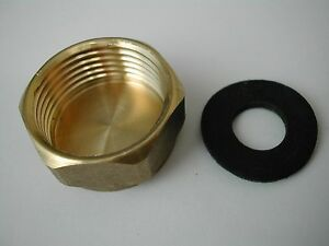 3-4-034-Stopp-Ende-Messing-Verschlusskappe