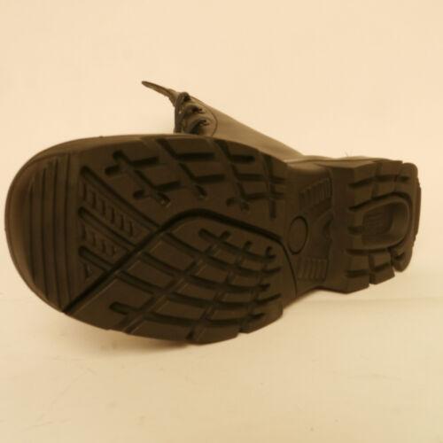 Bata Boots Gp de Ejército 99 acero punta la 59 cuero Combate del Botas Femenina de con Policía de € Rrp Gorro rwrCdpxq5