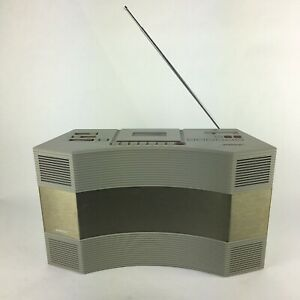 BOSE-AW-1-Radio-And-Tape-Cassette-For-Parts-or-repair-radio-works