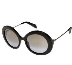 2caec47cc5 Image is loading Yohji-Yamamoto-Iconic-Black-Round-Sunglasses-Style-YY5001-