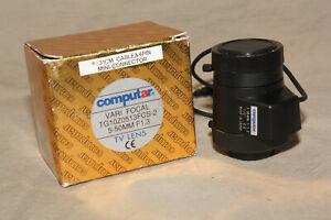 COMPUTAR-VARI-FOCAL-5-50mm-F-1-3-TV-LENS-TG1020513FCS-2-W-CAPS-amp-BOX-9072