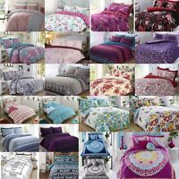 Duvet Cover with Pillow Case Quilt Cover Bedding Set King Double Single NewRange