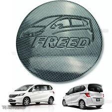 Fuel Oil Cap Tank Black Kevlar Cover Fit Honda Freed 4Door Hatchback 2010 14 16