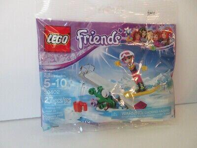 LEGO FRIENDS SNOW BOARD TRICKS 30402 NEW POLY BAG