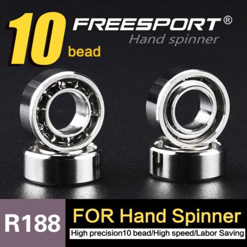 R188 Hybrid Ceramic Ball Inline High Speed Bearing For Finger Spinner Toy 2018