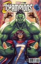 Champions #1 Legacy Edition Artgerm Color Variant