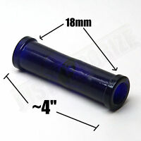 18mm Female To 18mm Female Ground Glass Coupling Adapter Joint Cobalt Blue