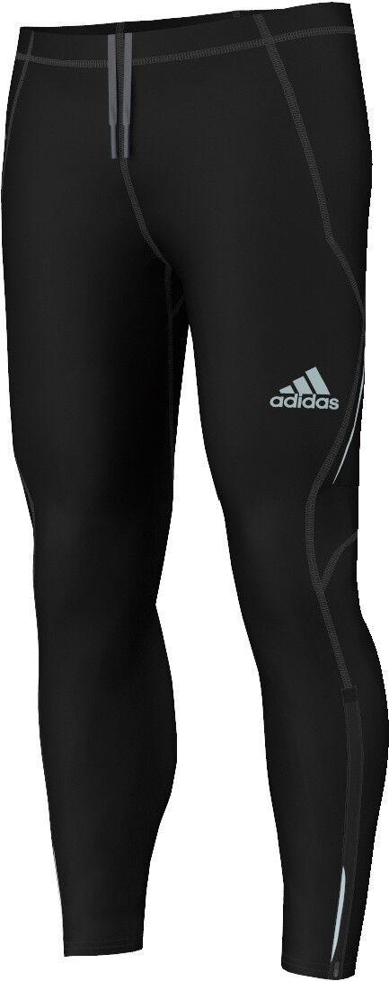 Adidas señores de ejecución  pantalones sequencials Lightweight brushed Tight  auténtico
