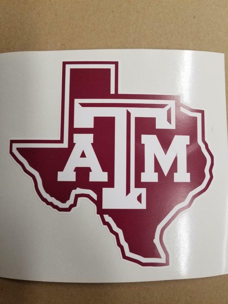Texas A&M cornhole board or vehicle decal(s) NCAA TA2