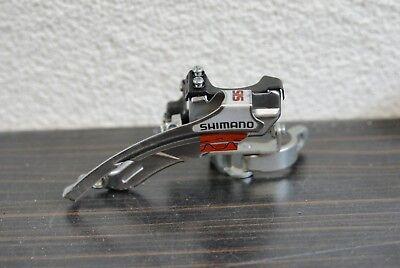 Zugführung von unten Shimano Nexave Umwerfer FD-T301 Ø 31,8 mm Schelle NOS