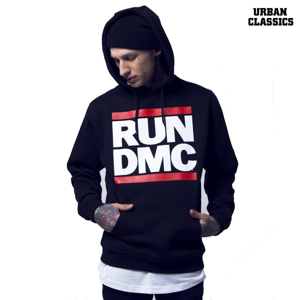 Urban Classics Herren Hoody Run DMC Logo Hoodie Pullover S M L XL XXL 3XL NEU