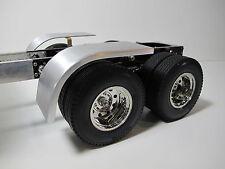 Custom aluminum Half fender Cover Tamiya RC 1/14 Semi King Knight Hauler Trailer
