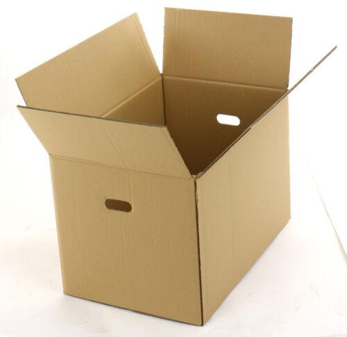 Umzugskartons Faltkartons 600x400x400 mm 2-wellig Schachtel NEU Menge Wählbar