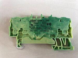 WAGO 4 Leiter Durchgangsklemme 2002-1402 TOPJOB S 2,5qmm orange 100 STK