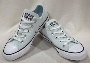 1e3c762635ce Converse All Star Women s CT Sparkle Knit OX Polar Blue Wht Sneakers ...