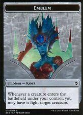 Kiora, Master of the Depths Emblem | NM/M | Battle for Zendikar | Magic MTG