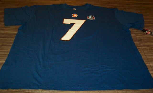 VINTAGE DENVER BRONCOS #7 JOHN ELWAY NFL FOOTBALL T-Shirt Big and Tall 4XL  NEW
