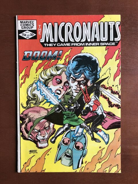Micronauts #41 (1982) 8.0 VF Marvel Key Issue Bronze Age Comic Book High Grade
