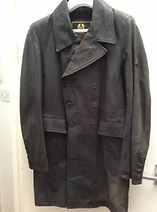 BELSTAFF-RARE-LONG-TRENCH-SWEENY-TODD-BIKER-COAT-JACKET-DESIGNER-MOVIE-PROP