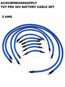 Image Is Loading Ezgo Txt Pds 36v 2 Gauge Welding Wire