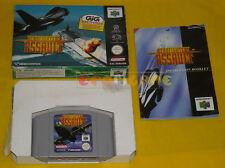 AEROFIGHTERS ASSAULT Nintendo 64 N64 Versione PAL Europea »»»»» COMPLETO