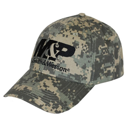 M/&P by SMITH /& WESSON *DIGITAL CAMO* TRADEMARK LOGO HAT CAP *BRAND NEW* MP10