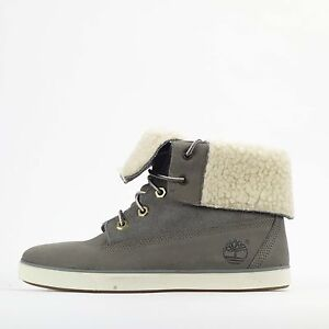 Boots Chaussures Down Deering Fold Gris Earthkeepers Womens Timberland Fleece PYpOxq