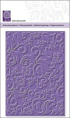 "Prägefolder Embossing Schablone ~ Folder ~ ""Blume"" ~ Stencils ~ cArt-Us ~ NEU"