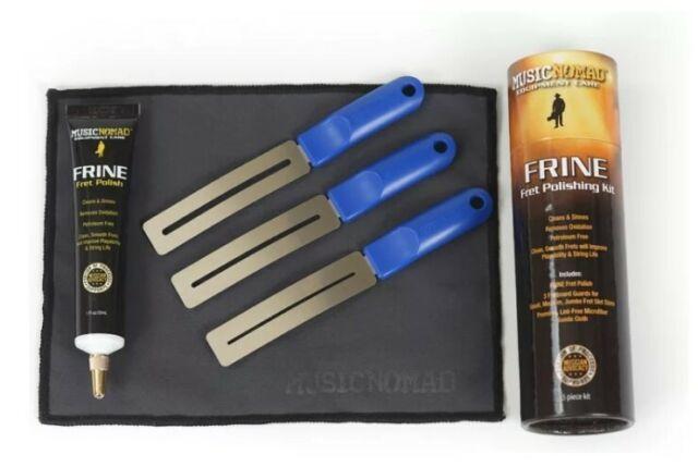 Music Nomad Frine Guitar Fret Polishing Cleaning Kit - 5 piece MN124