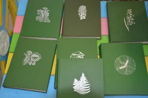 Books-USSR-1980-lot-of-7-books-plant-Life-in-7-volumes-full-edition