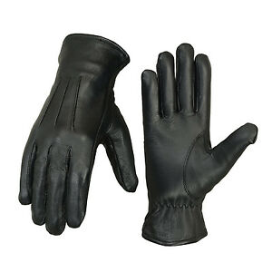 Men-039-s-Winter-Italian-Sheep-Leather-Warm-Gloves-Soft-Driving-Fashion-Fleece-lined