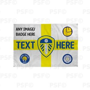 Leeds-United-FC-Official-Personalised-St-George-Yellow-Flag-Crest-Banner-LB017