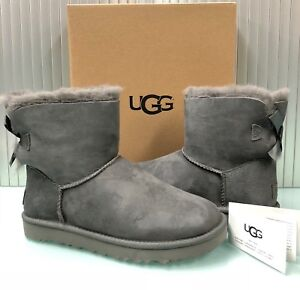 a03dbb1e49ef New UGG Australia Women's Mini Bailey Bow II Boots Shoes 1016501 ...
