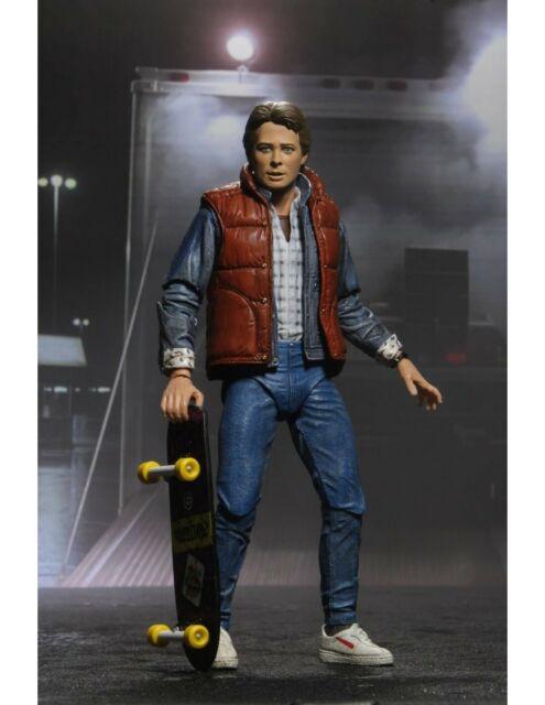 Figure Ultimate Marty Mcfly 18cm Part 1 Return Future Original Official Neca
