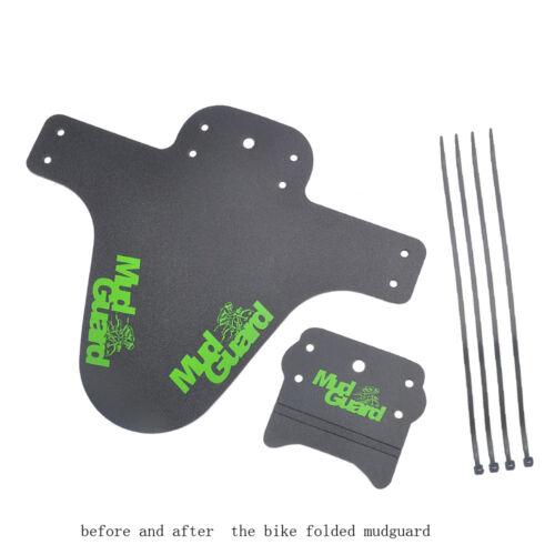 Bicycle Cycling Road Front+Rear Mud Guard Mudguard Set Mountain Bike Tire